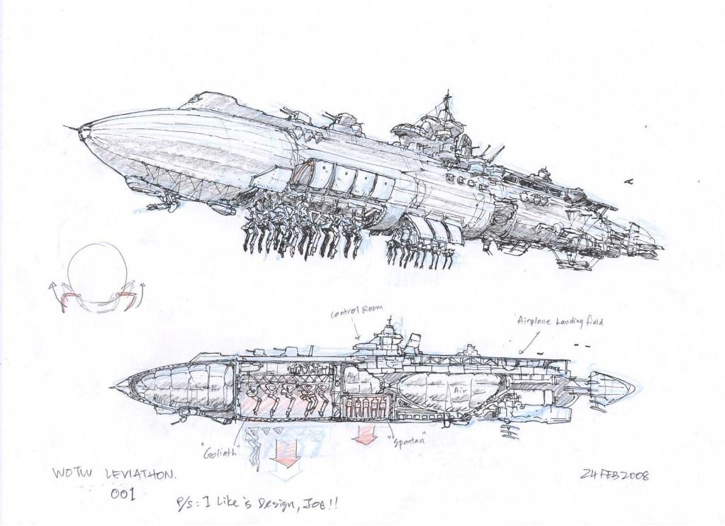 goliath leviathan zeppelin