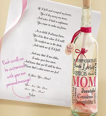 Send your #Mom a touching message in a bottle this #MothersDay ...