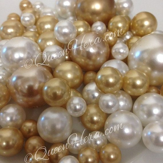 Decorative Jumbo Pearls Vase Fillers By Floatingpearls On Etsy