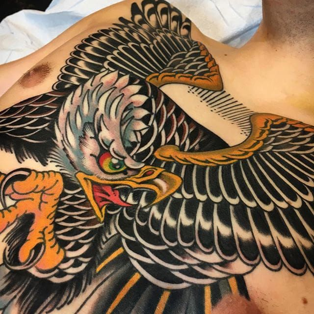 Griffen Gurzi makes traditional tattoos for all