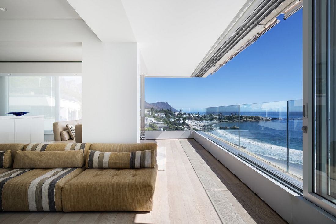 contemporary apartment renovation - Clifton, Cape Town, by Three14 Architects Photograph by Adam Letch #CliftonBeachApartment #Three14Architects #KimBenatar #SianFisher