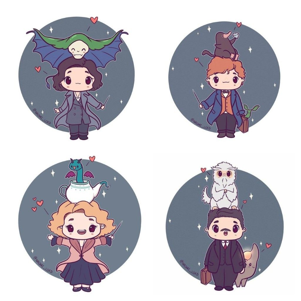 Fantastic beasts fan art harry potter cute harry potter harry potter drawings harry potter - Harry potter dessin ...