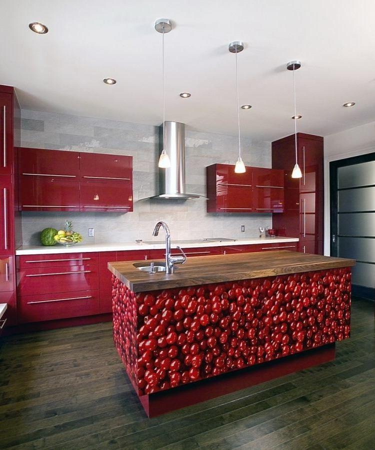 Küchenfronten bekleben: 19 frische Vorschläge für Erneuerung ...