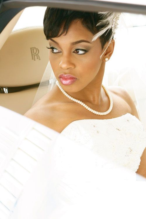 Stupendous 1000 Images About Wedding Hairstyles On Pinterest Black Women Short Hairstyles For Black Women Fulllsitofus
