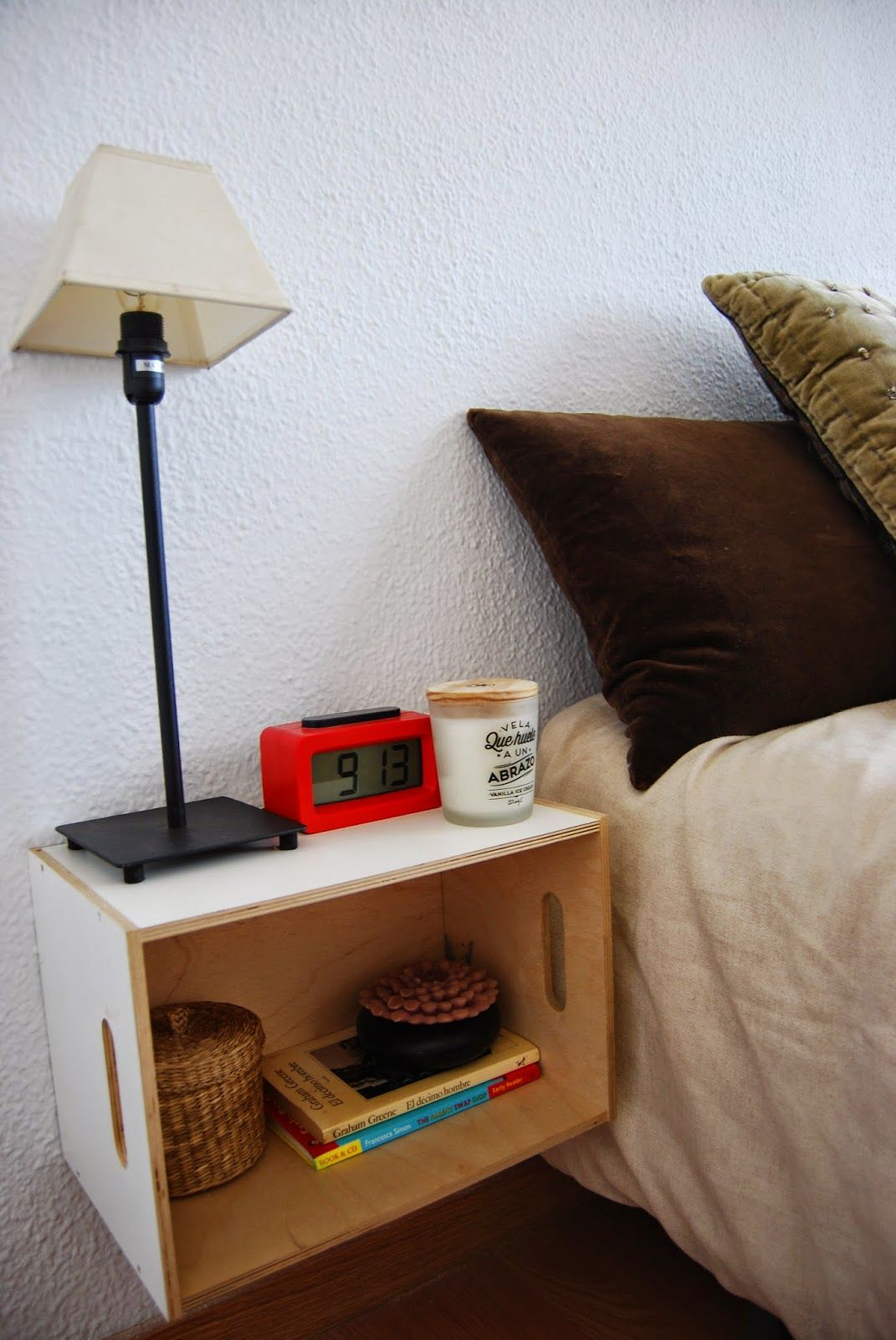 Low Cost Muebles Diy Low Cost Side Table Wih Ikea Wood Box Mesilla De