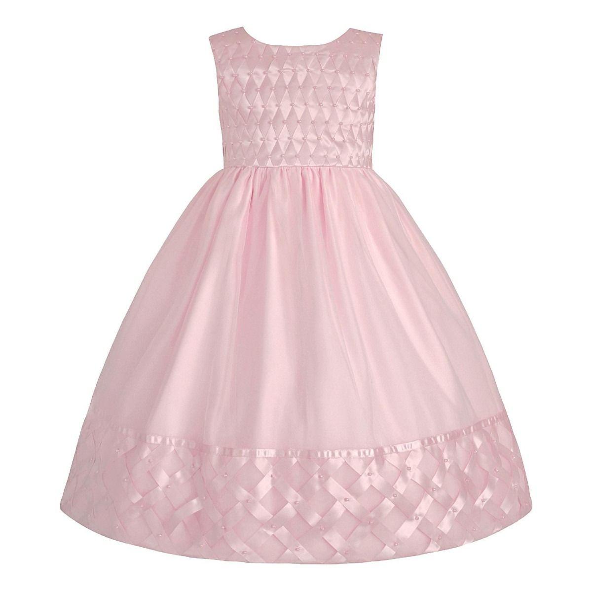 a56912288 Vestido Infantil De Festa Princesa Rosa - Lindíssimo! - R$ 149,90 no  MercadoLivre Mais