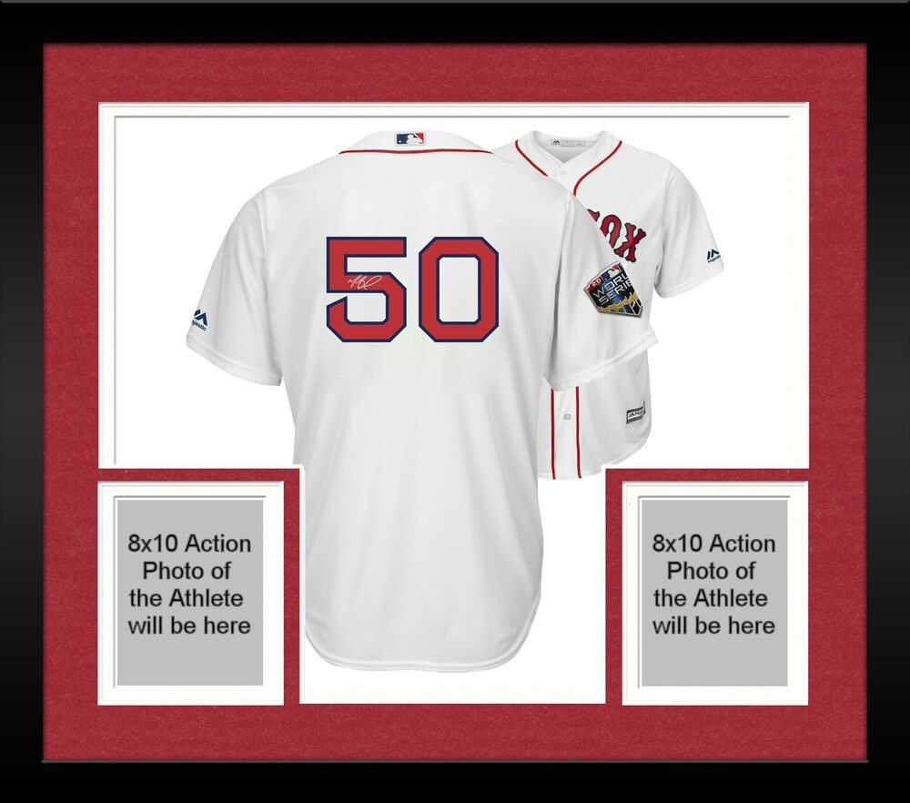 size 40 5ee87 764db Autographed Mookie Betts Red Sox Jersey Fanatics Authentic ...