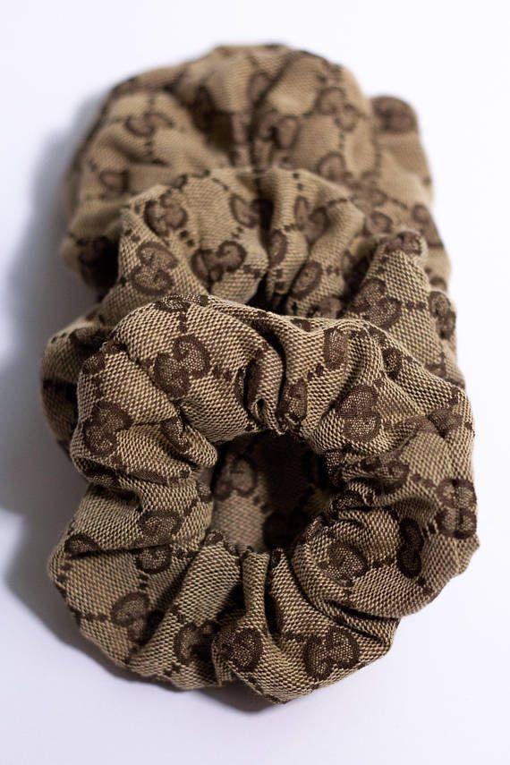 Shop Gucci Scrunchies. 100% genuine Gucci fabric.