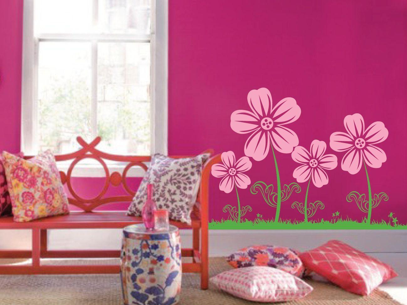 Wall Flower Nursery Decal 1123