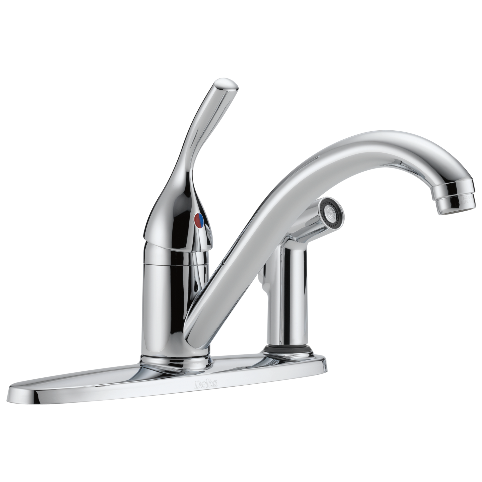 Delta Faucet Classic 300 Dst Single Handle Kitchen Faucet With