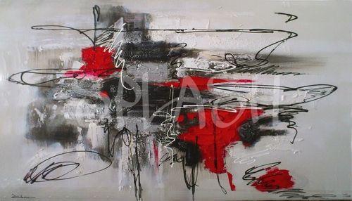 16x16inch EBONP Cuadro Decorativo Pared /Pintura al /óleo de Vaca Arte Abstracto de la Pared en Lienzo Pop Poster Print para la Sala Decoraci/ón de la Pared Imagen-40x40cm