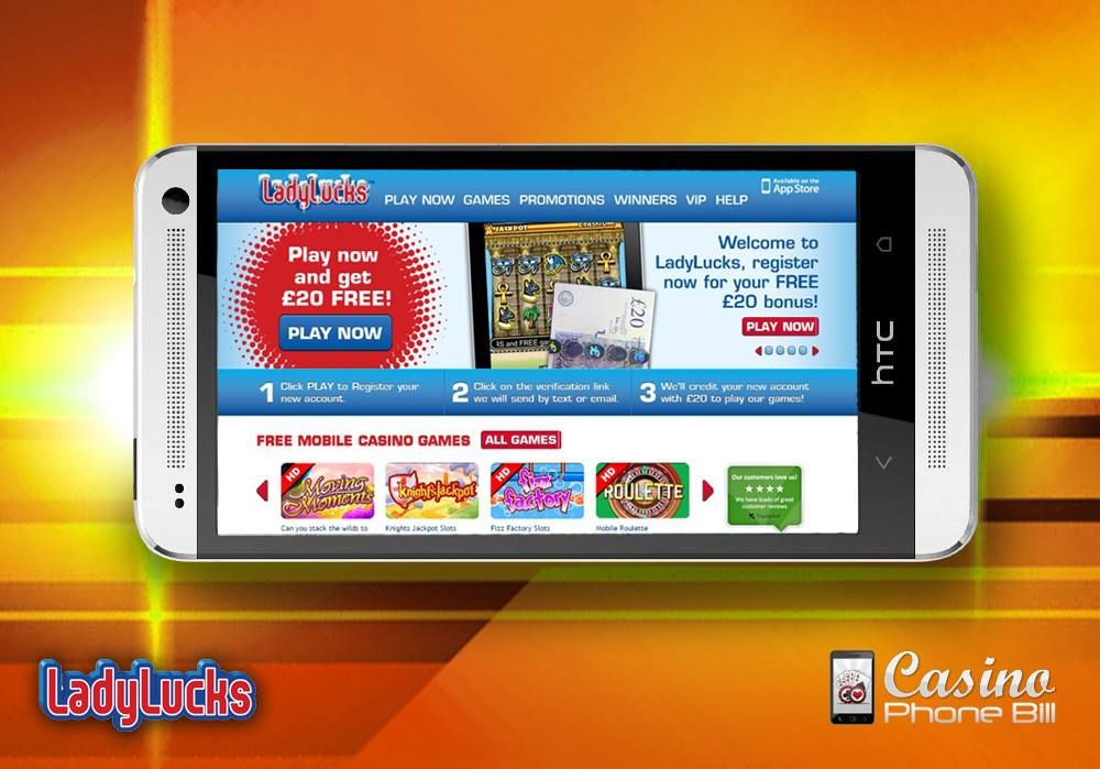 Play slots on mobile bill free online internet casino games