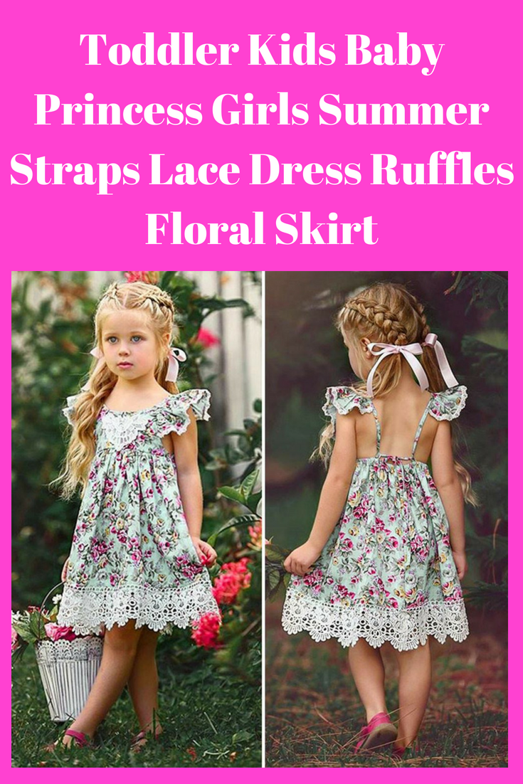 Cute Newborn Kids Baby Girl Princess Star Wars Dress Summer Sundress Clothes US