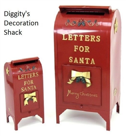 Letters For Santa Mailbox Christmas Decoration Indoor Outdoor
