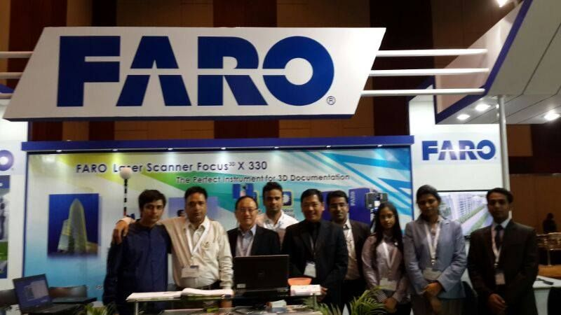 Directors of KK Geosystem at IGF 2014 event with the team #Faro