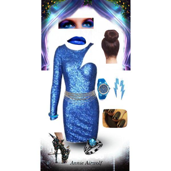 """Cutout dress"" by annieairwolf on Polyvore"