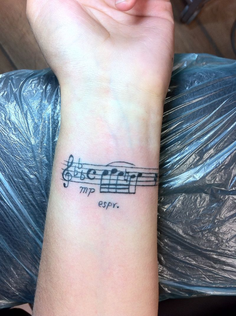 115 Music Notes Tattoos for the Music Lovers Music notes