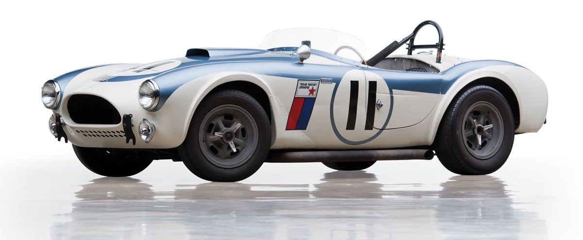 This is The First Privateer Shelby Cobra Competition Car Ever Made ...