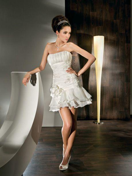 Short Skirt Wedding Dress - Ocodea.com