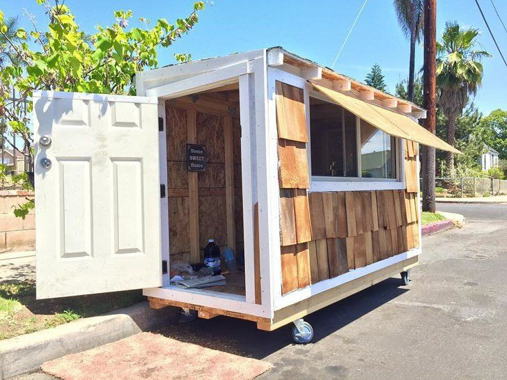 Tiny Homes Helped Needy Communities Homeless Housing Building A Tiny House Building A Small House