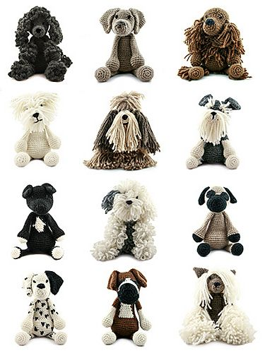 Millie The Poodle Pattern By Kerry Lord Epic Crochet 3 Pinterest