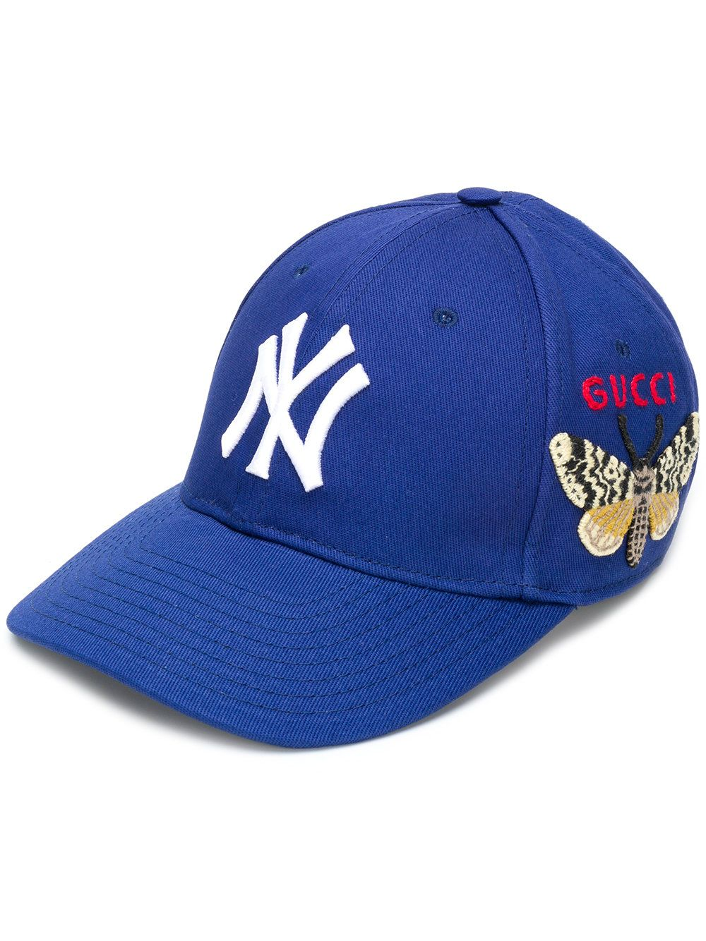 2166121b471 Gucci Baseball Cap With NY Yankees™ Patch