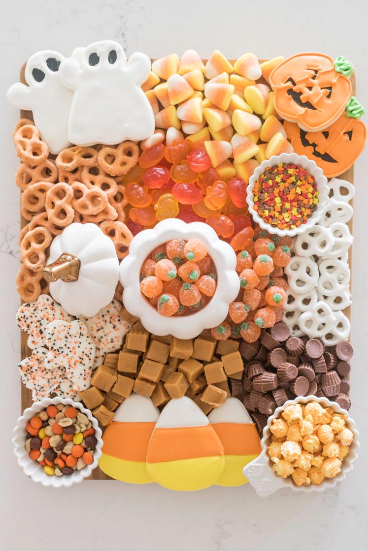 Festive Halloween Charcuterie Board   Recipes & Holiday  Jennifer Maune