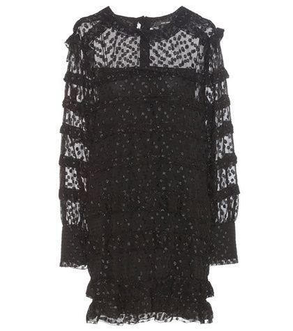 Isabel Marant Adriana Fil Coupé Mini Dress For Spring-Summer 2017