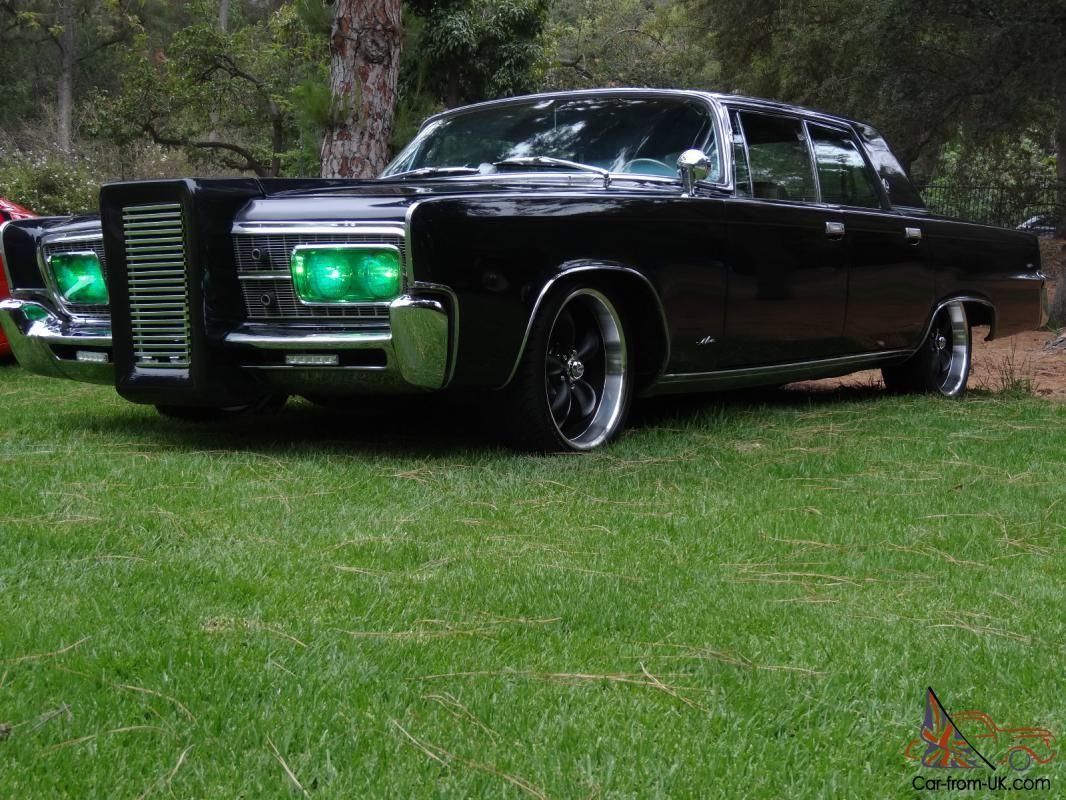 Green Hornet Black Beauty 1966 Chrysler Imperial Pristine
