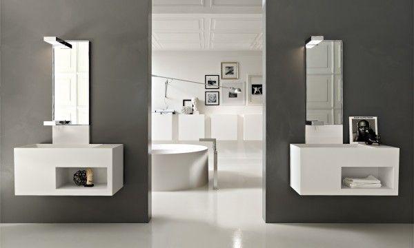 Ultra Modern Italian Bathroom Design  Vanity Units Vanities And New Ultra Modern Bathroom Designs 2018