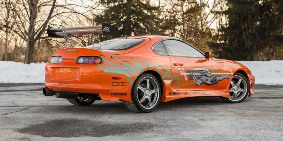 Original Fast & Furious Toyota Supra stunt car – Photos | Stunts ...