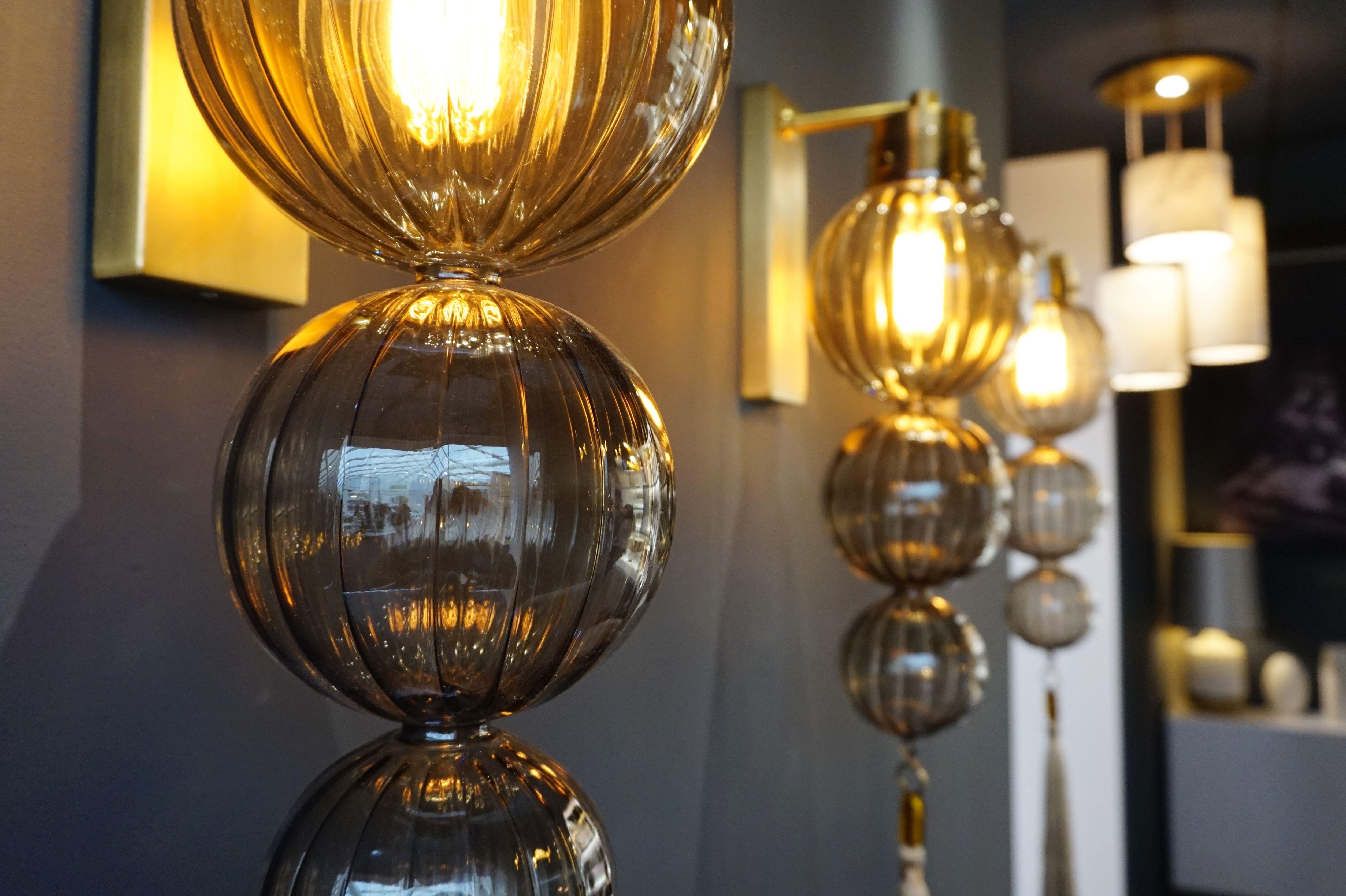 Medina smoke wall ball lighting solutions walls and lights