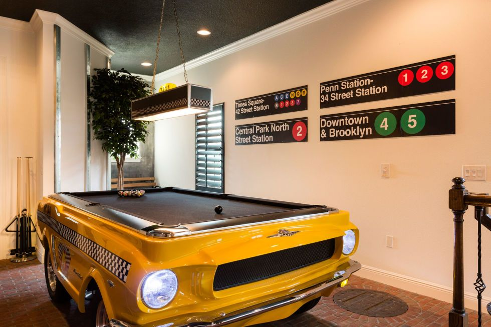This Unassuming Home Is Hiding A Big Surprise Inside Pool Table - Pool table rental nyc