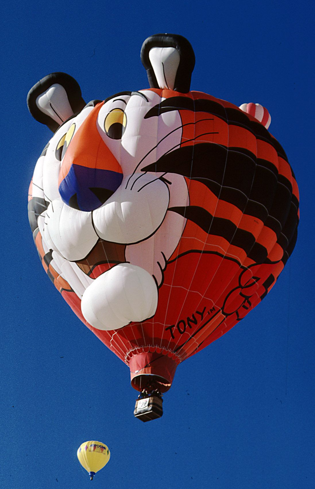 Tony The Tiger Hot Air Balloon Eye Of The Tiger Balloons