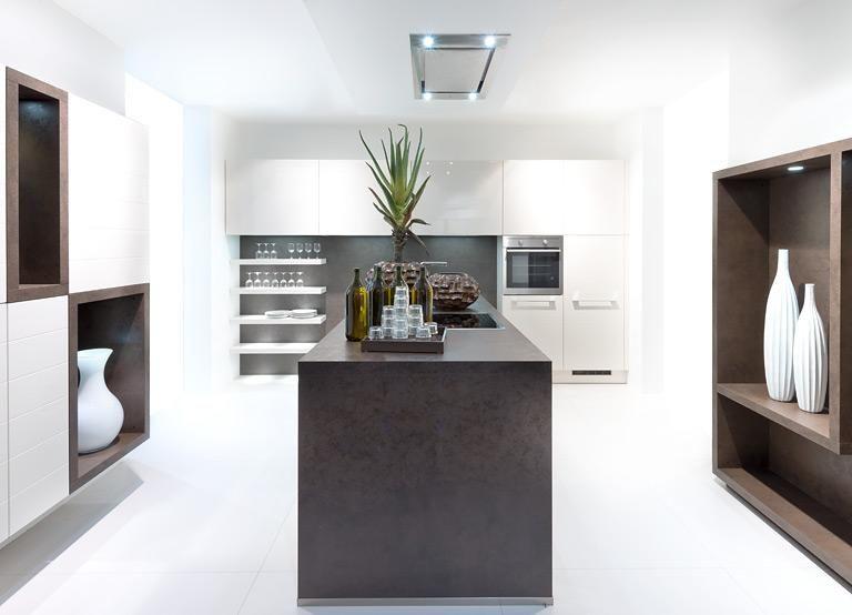 Glas \ Keramik für die Küche Fast wie Glas Kochinsel von Nolte - alno küchen katalog