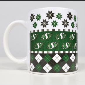 Saskatchewan Roughrider Christmas Mug Christmas mugs