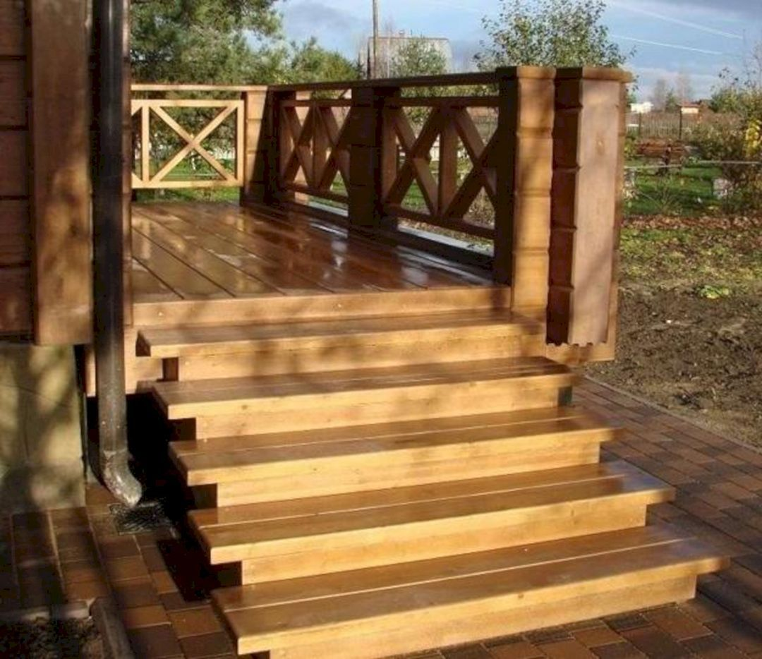 Best Amazing 30 Unique Outdoor Wooden Stairs Ideas That Will 400 x 300