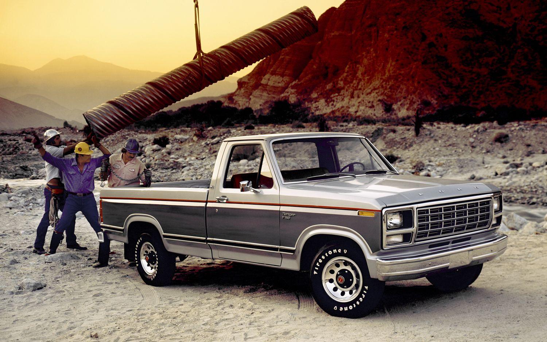 1980 ford f 150 ranger diesel pickup 6