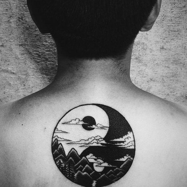 Meaning yin yang symbol tattoo Yin Yang