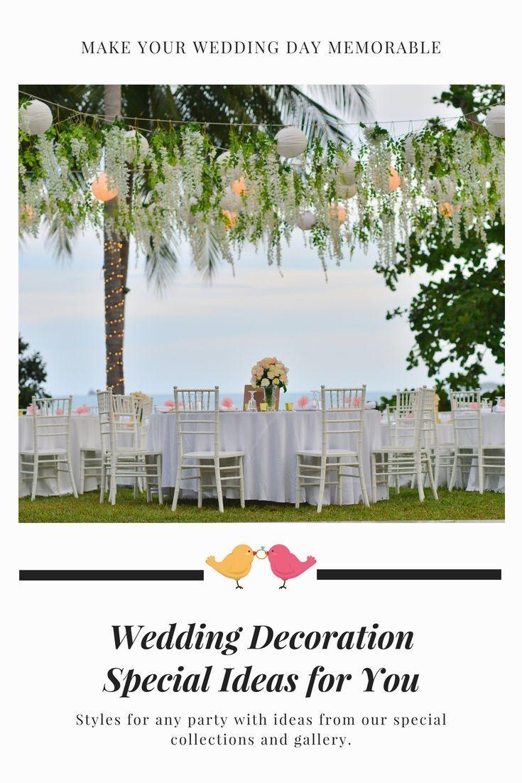 Wedding decor images  Dress Up Your Family Wedding Celebration Decoration With One Of