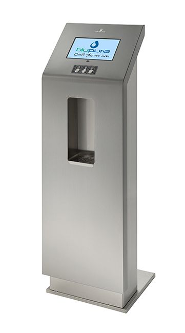 #BCC Vision, the #watercooler by #Blupura with audio and video for information or advertising!