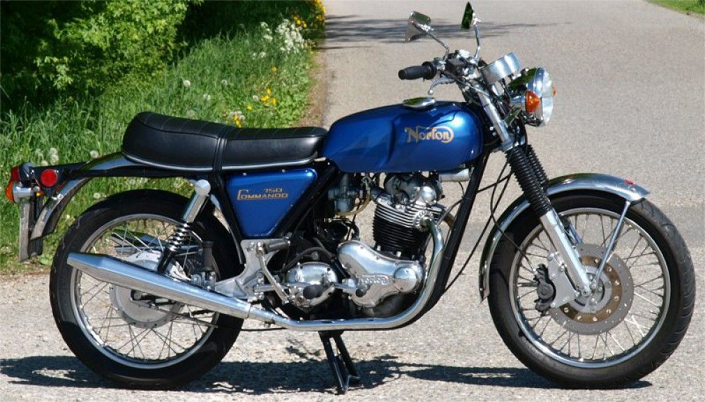 Norton Motorcycle Sparts Specialist - Genuine Norton