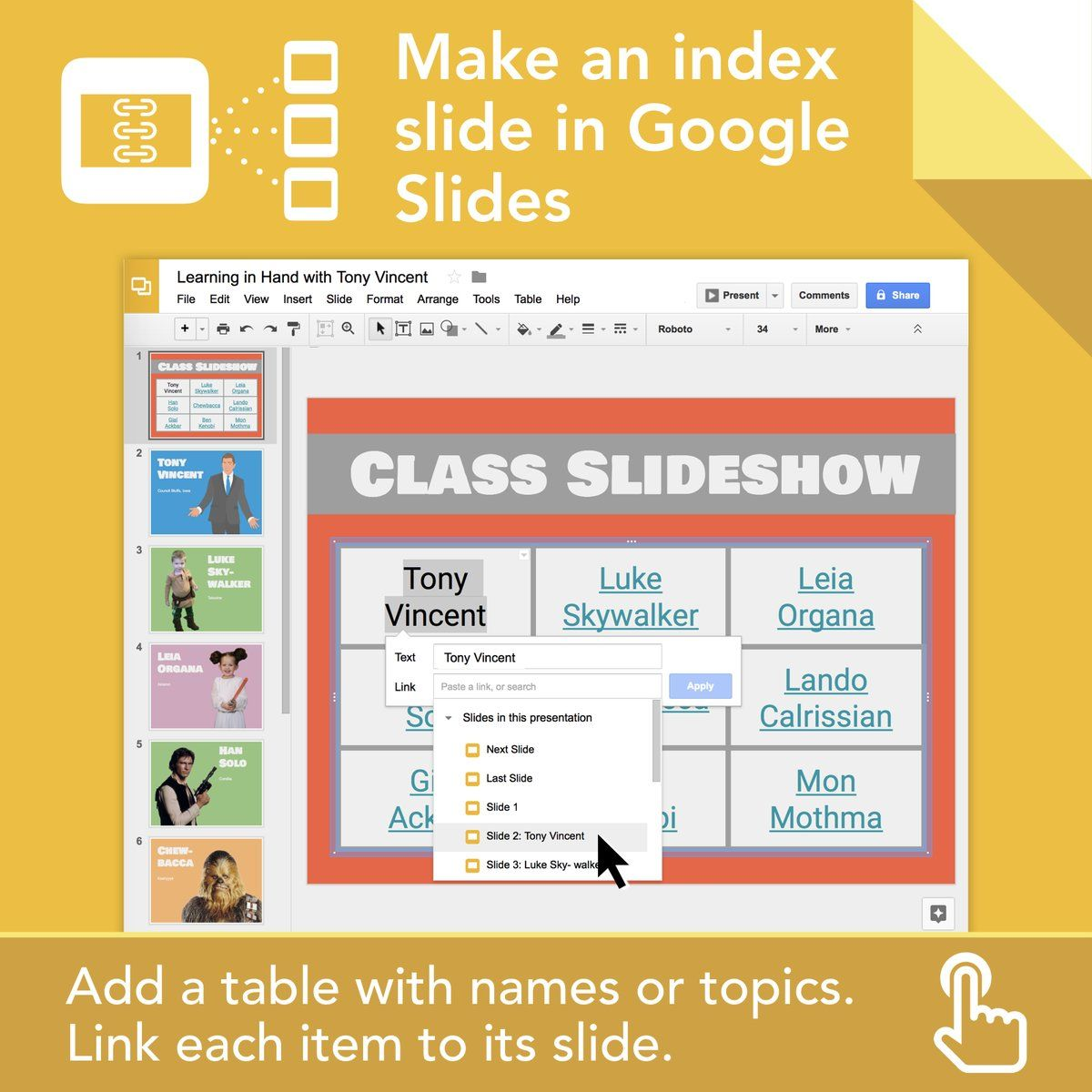 📇 Creating a collaborative Google Slides project? Consider