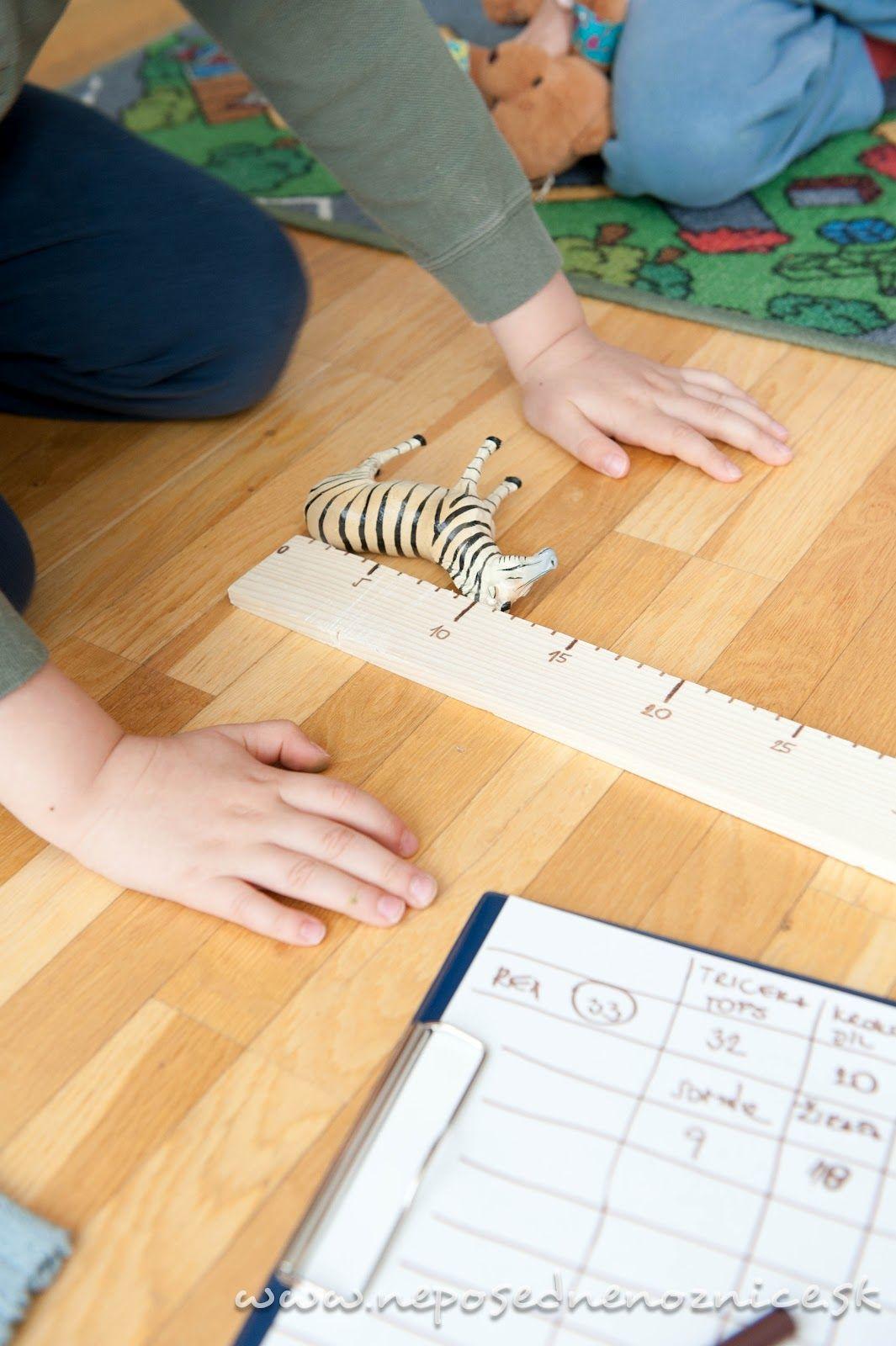 Bol to spontánny nápad. Mali sme doma obyčajnú drevenú latku. Nakreslila som na ňu čísla a tenká drevená doska sa premenila na meter.     ...