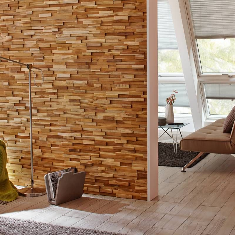 Holzverblender Ultrawood Teak Firenze Der Marke Rebel Of Styles    Style4walls
