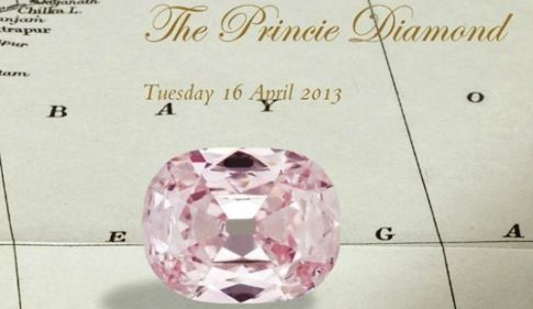 Los diamantes Princie