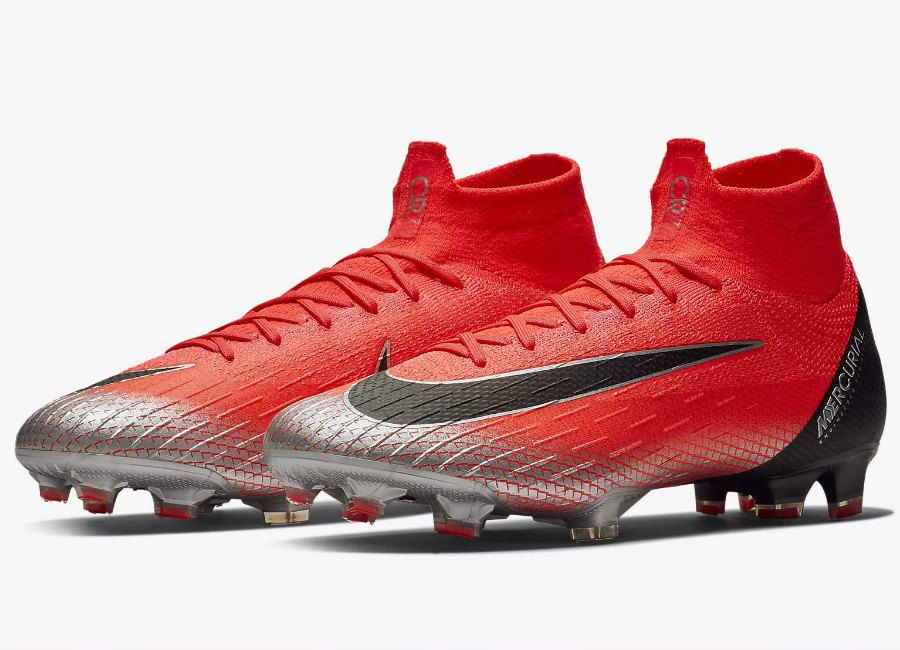 1a5ffe2b332d  nikefootball  cr7 Nike Mercurial Superfly 360 Elite CR7 FG Chapter 7 - Flash  Crimson   Total Crimson   Black