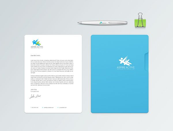 Aspire Active - Brand Identity & Website Design on Branding Served