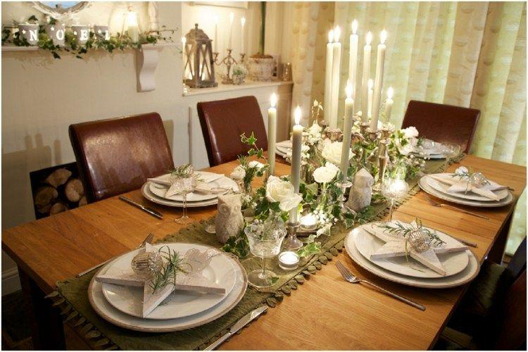 dekorative sterne als akzente auf dem weihnachtstisch weihnachten pinterest. Black Bedroom Furniture Sets. Home Design Ideas