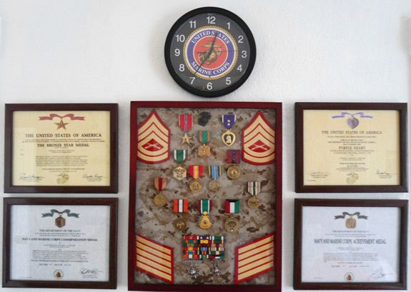 Shadow Box Marine Corps Stories Scuttlebutt Sgt Grit Home Rhpinterest: Usmc Home Decor At Home Improvement Advice